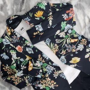 ❤2/80$ Zara Floral Blazer